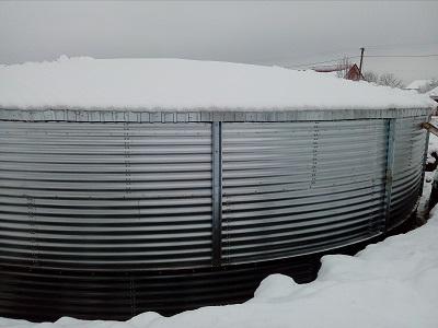 Резервуар для питьевой воды, Волынская область