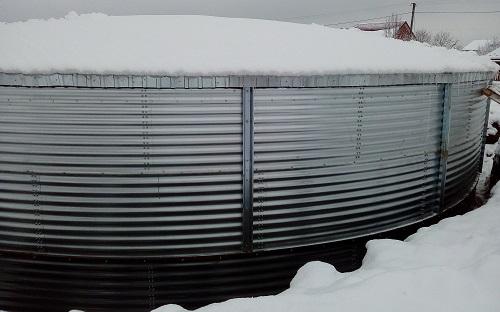 Резервуар для питної води, Волинська область