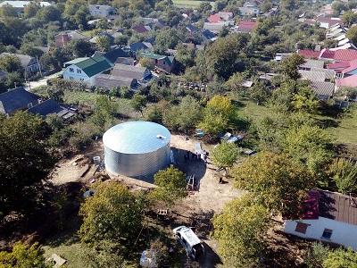 Резервуар для питьевой воды, Хмельницкая область готовая постройка