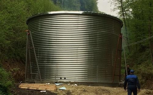 Резервуар для питної води, Закарпатська область