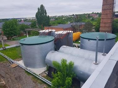 Резервуары для технической воды,