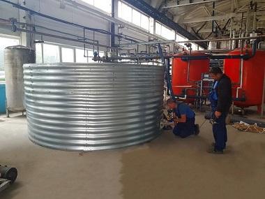 Резервуары для технической воды в Львовской области