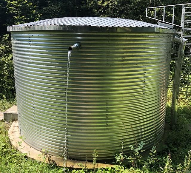 пожарный резервуар для хранения воды