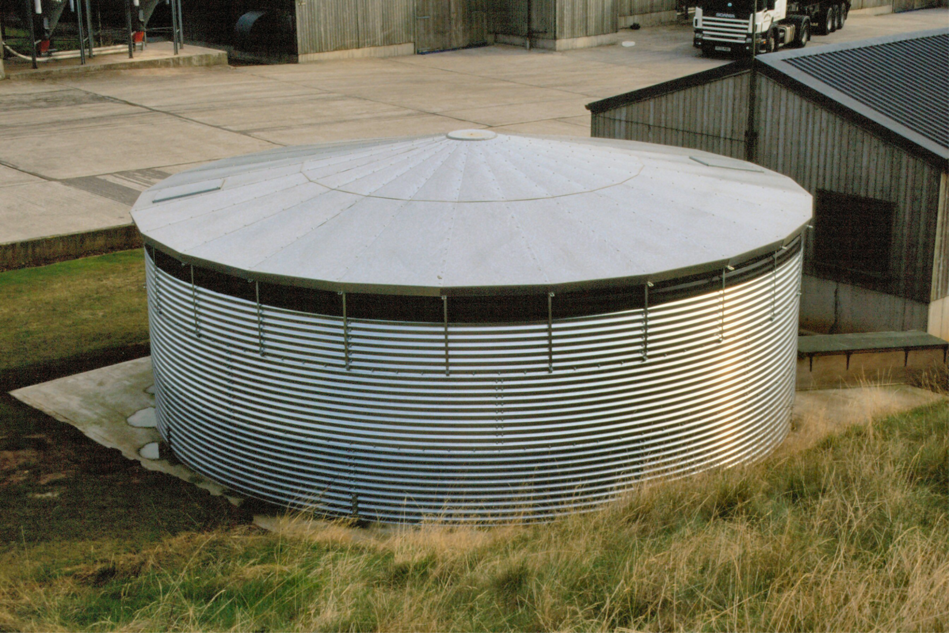 tanks for water supply at the enterprise